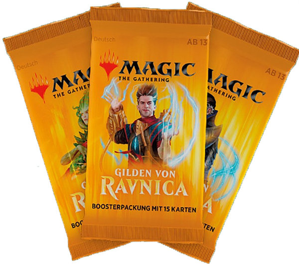 Guilds Of Ravnica Boosters 3 For £10