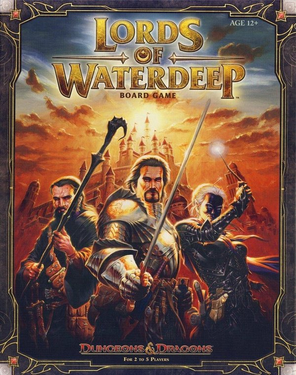 Dungeons & Dragons Board Game - Lords of Waterdeep