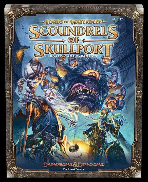 Dungeons & Dragons Board Game Expansion Lords of Waterdeep: Scoundrels of Skullport