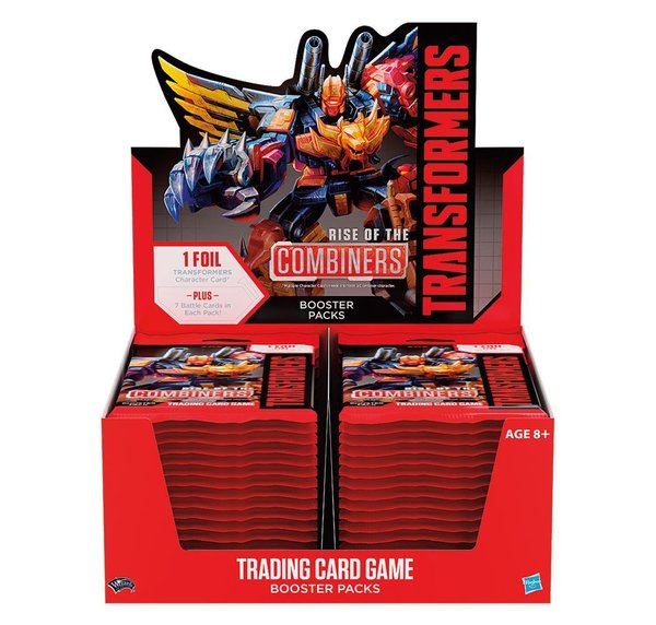 Transformers TCG Booster Rise of the Combiners Display