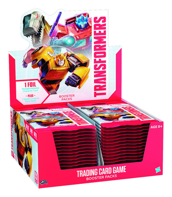 Transformers TCG Booster Display