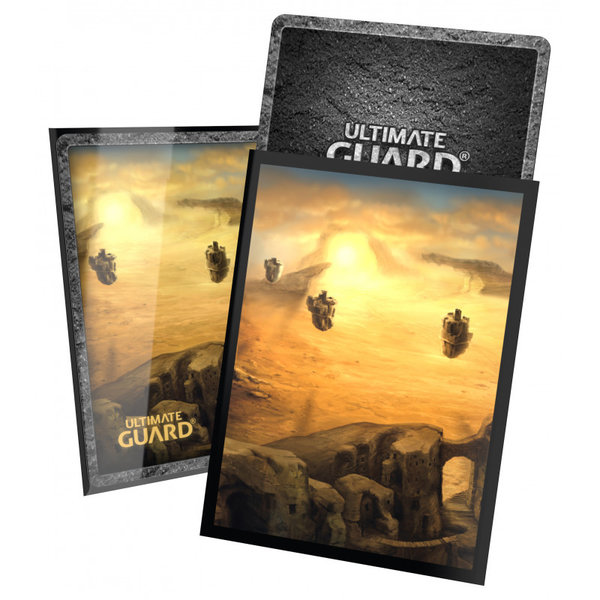 Ultimate Guard Printed Sleeves Standard Size Lands Edition II Plains (100)