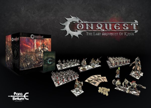 Conquest: The Last Argument of Kings Tabletop Game Core Box