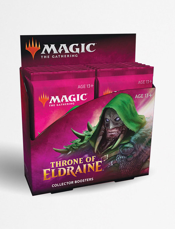Throne of Eldraine Collectors Booster Display - Magic: The Gathering