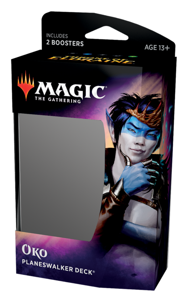 Throne of Eldraine Planeswalker Deck - Oko - Magic: The Gathering