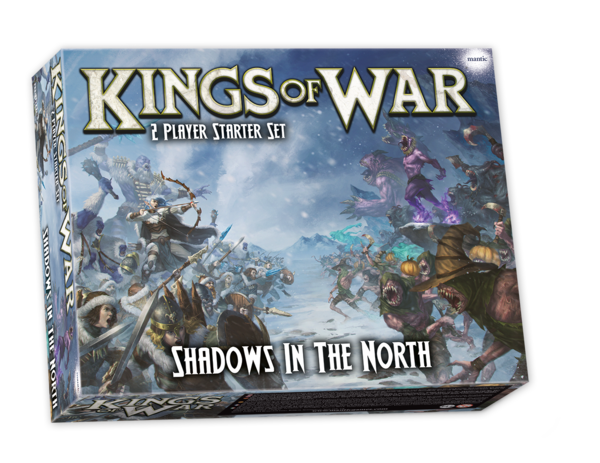 Shadows in the North: Kings of War 2-player starter set *PRE ORDER*