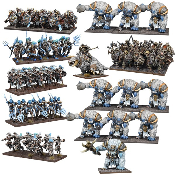 Northern Alliance Mega Army: Kings of War Army Boxset *PRE ORDER*