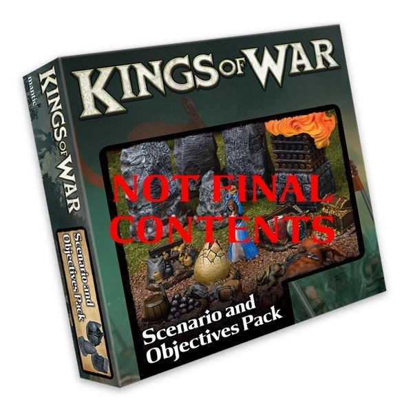 Scenario and Objective Set: Kings of War *PRE ORDER*