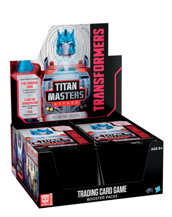 Transformers TCG Titan Masters Attack Booster Box