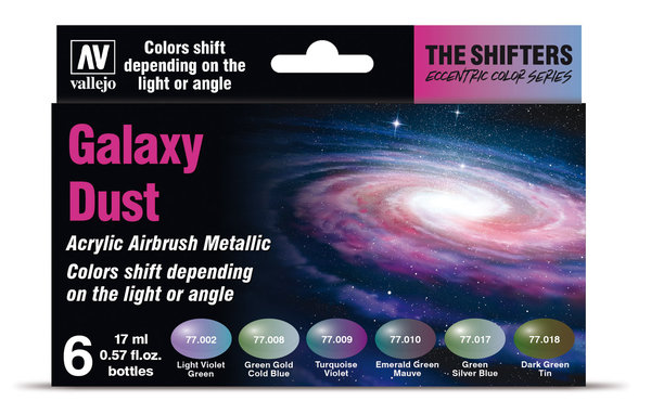 Galaxy Dust - Shifters Eccentric Color Series - Vallejo