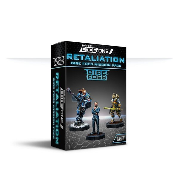 Dire Foes Mission Pack Alpha: Retaliation - Infinity Code One