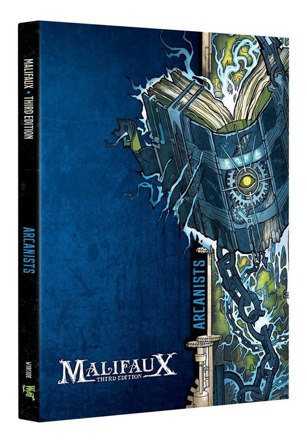 Arcanist Faction Book - M3e Malifaux 3rd Edition