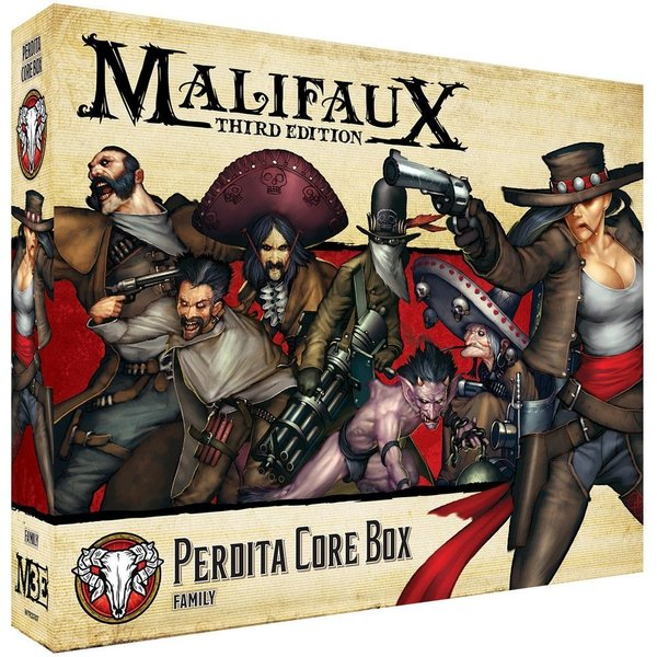 Perdita Core Box - M3e Malifaux 3rd Edition