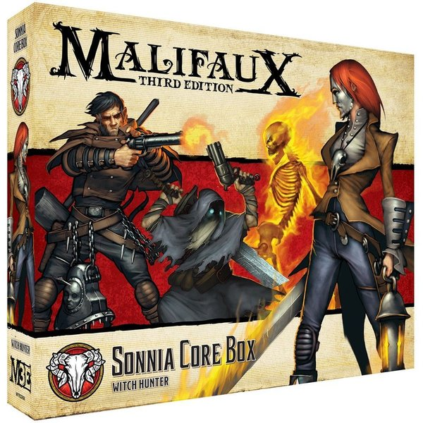 Sonnia Core Box - M3e Malifaux 3rd Edition