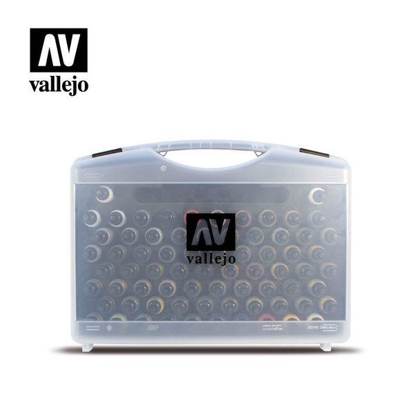 Vallejo Game Air - Plastic Case with 51 Colours