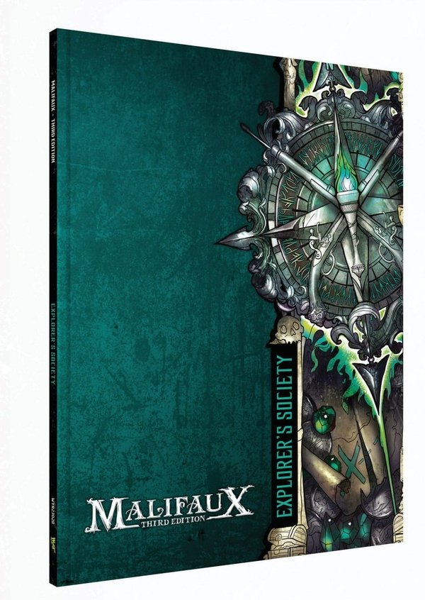 Explorer's Society Faction Book - M3e Malifaux 3rd Edition *PRE ORDER*