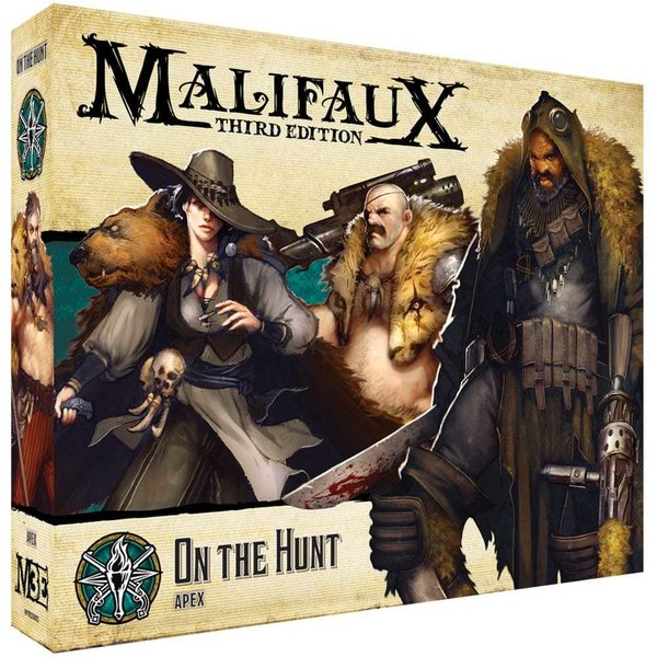 On the Hunt Explorer's Society - M3e Malifaux 3rd Edition *PRE ORDER*