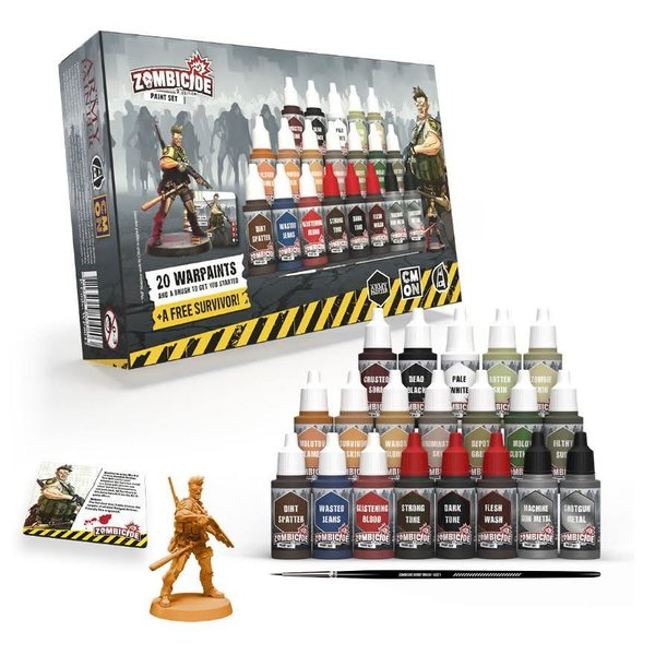 Zombicide 2nd Edition Paint Set - The Army Painter *PRE ORDER*