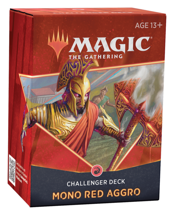 Challenger Deck 2021 - Mono Red Aggro - Magic: The Gathering *PRE ORDER*