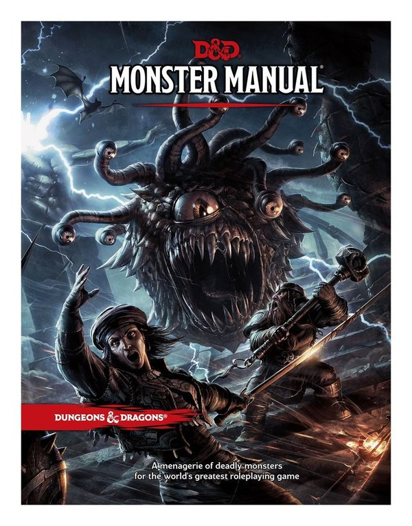 Monsters Manual - Dungeons & Dragons RPG