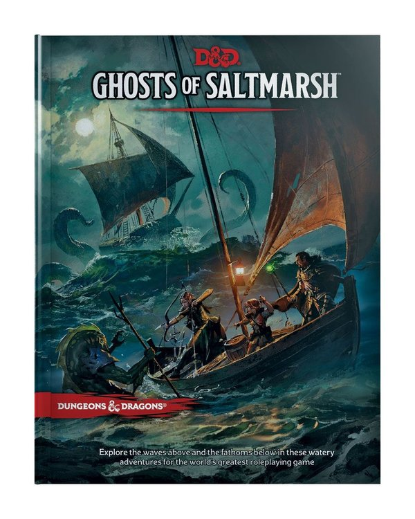 Ghosts of Saltmarsh - Dungeons & Dragons RPG Adventure