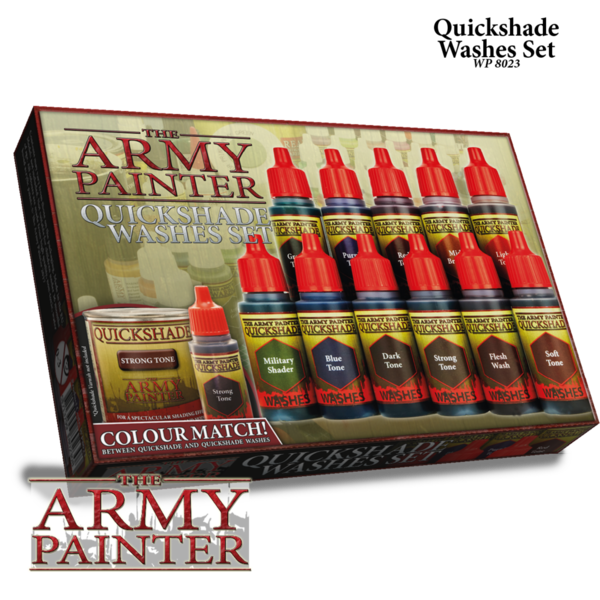 Warpaints Washes Paint Set - The Army Painter