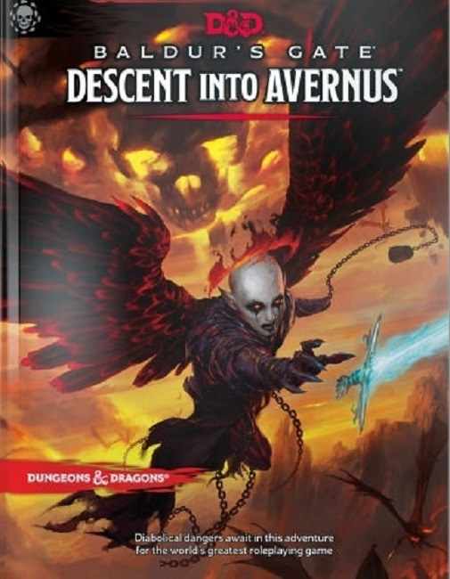 Baldur's Gate: Descent Into Avernus - Dungeons & Dragons RPG Adventure