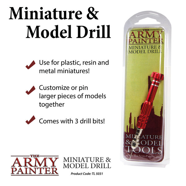 Miniature & Model Drill - The Army Painter