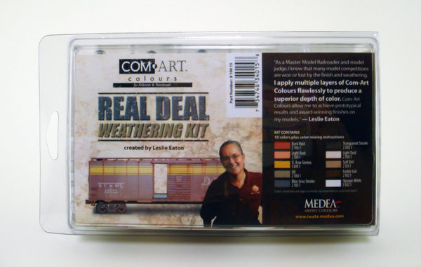 Com-Art Real Deal Weathering Paint Set