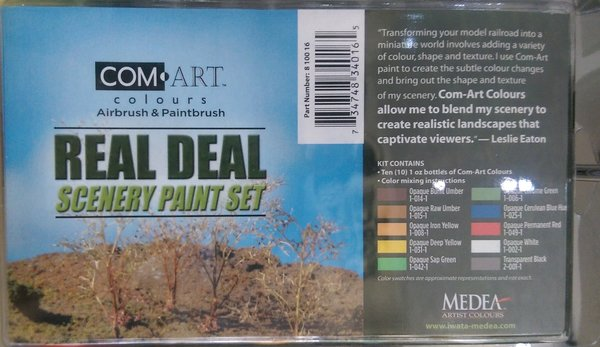 Com-Art Real Deal Scenery Paint Set