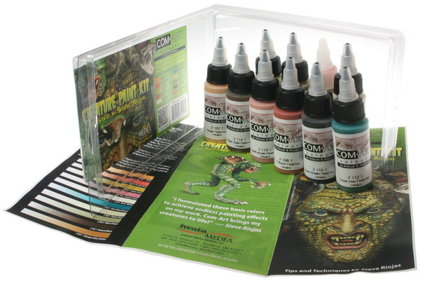 Com-Art Creature Paint Kit