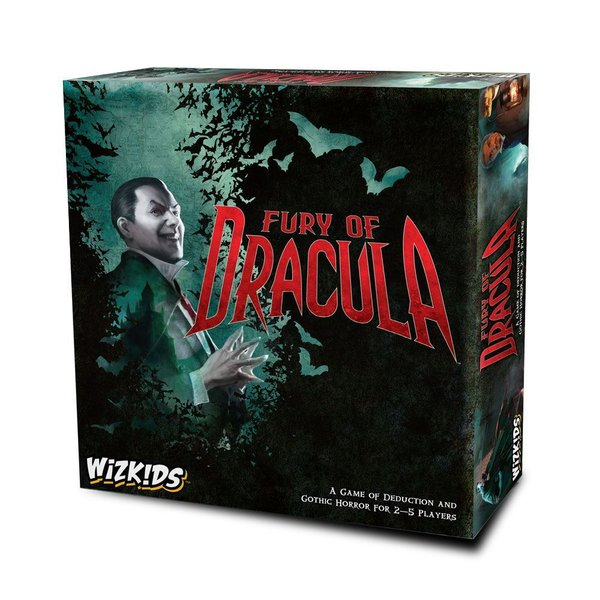 WizKids Board Game Fury of Dracula 4th Edition